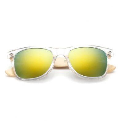 Sunny színtelen napszemüveg bambusz szárral