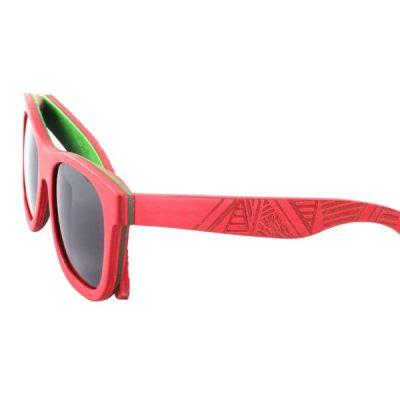 Happy fa napszemüveg piros kerettel