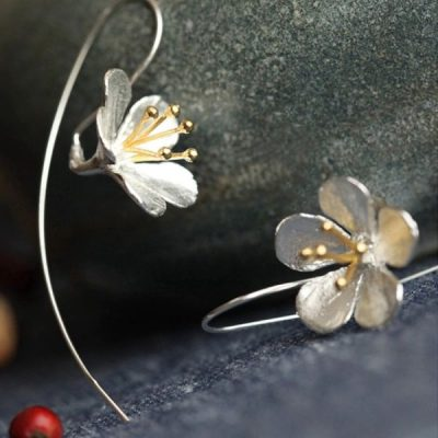 Cherry flower női fülbevaló