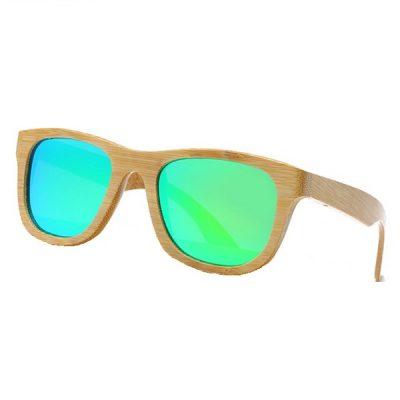 Happy fa napszemüveg – retro halvány zöld színben